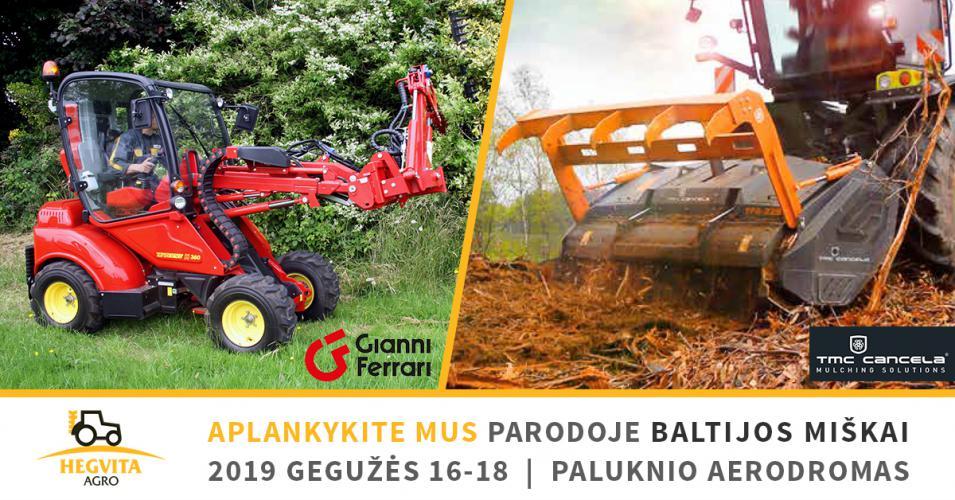 """Hegvita Agro parodoje """"Baltijos miškai 2019"""""""
